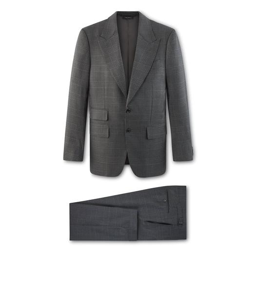 GREY CHECK O'CONNOR SUIT