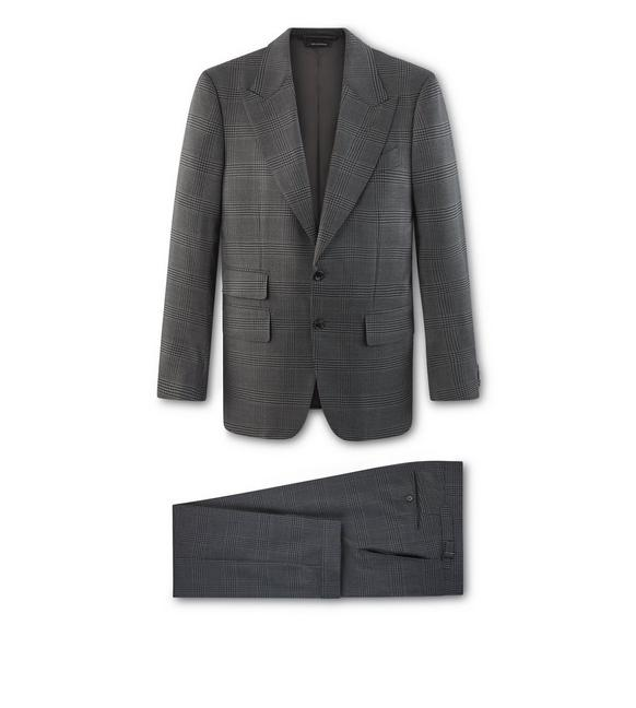 GREY CHECK O'CONNOR SUIT A fullsize