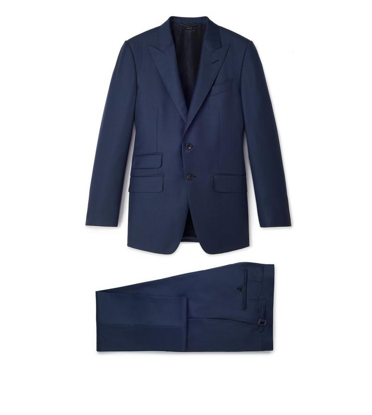 SUPER 110S SHARKSKIN O'CONNOR TWO PIECE SUIT A fullsize