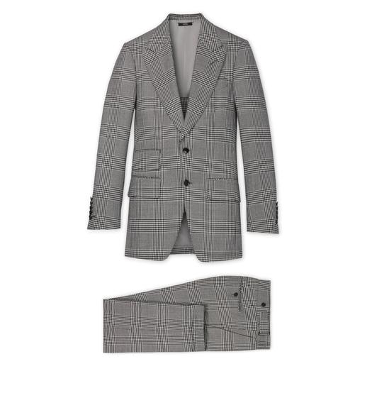 PRINCE OF WALES CHECK ATTICUS SUIT