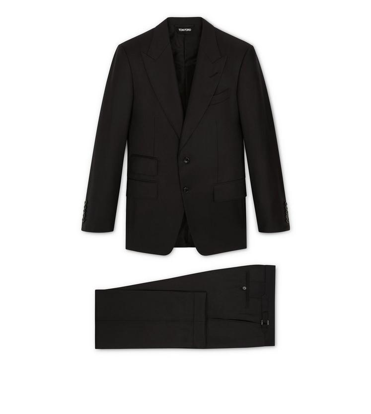 WINDSOR THREE-PIECE PEAK LAPEL SUIT A fullsize