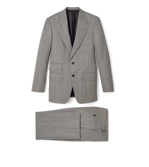 THREE-PIECE WOOL WINDSOR SUIT
