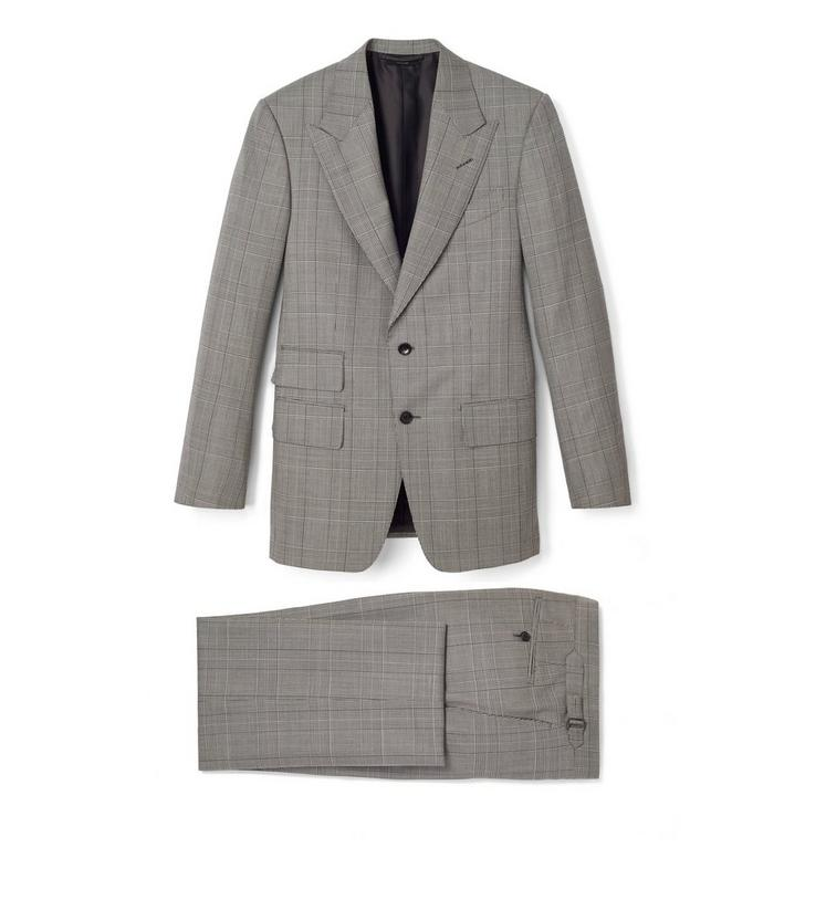 OVERCHECK PRINCE OF WALES WINDSOR THREE PIECE SUIT A fullsize