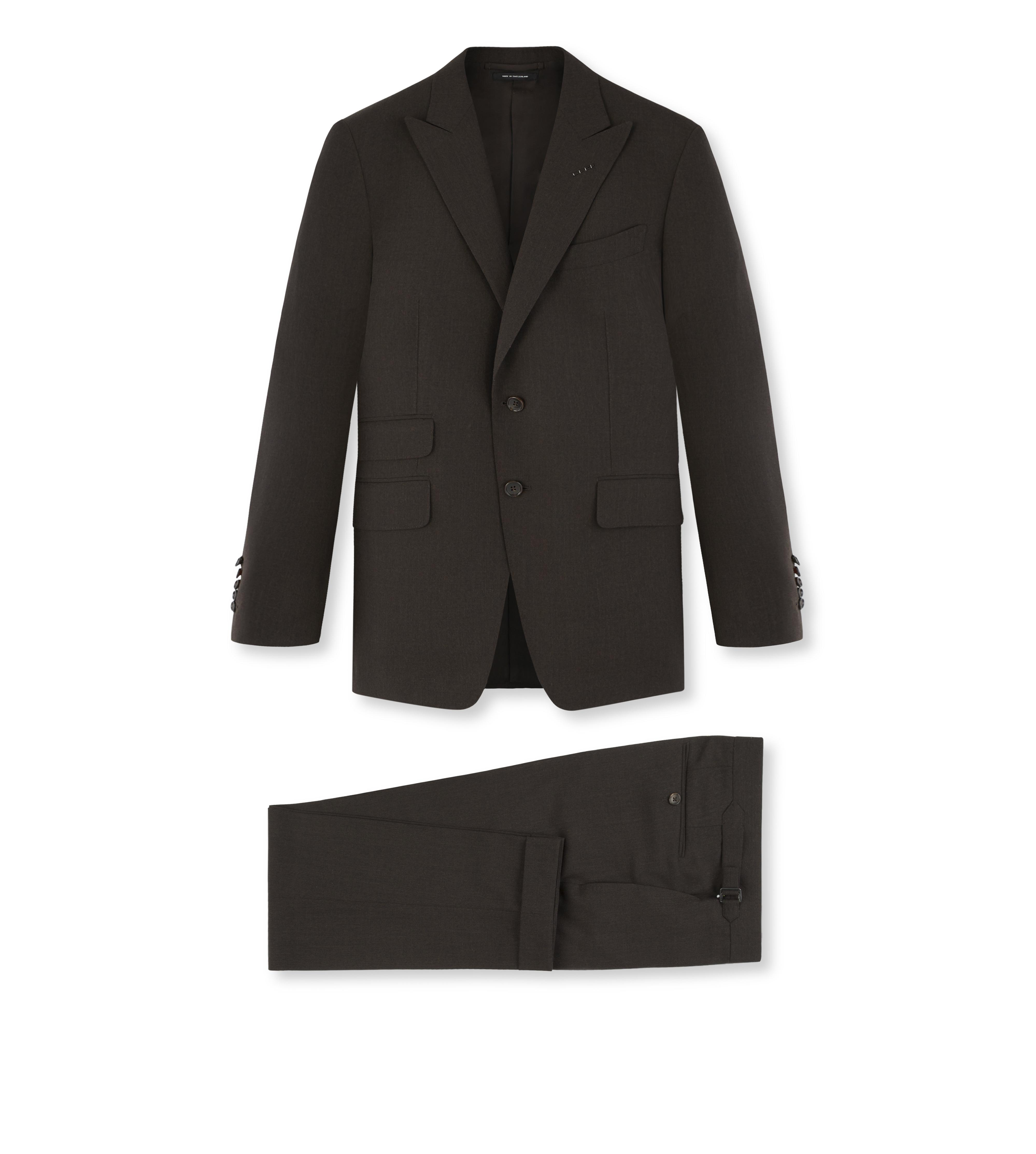 THREE-PIECE WOOL O'CONNOR SUIT A thumbnail