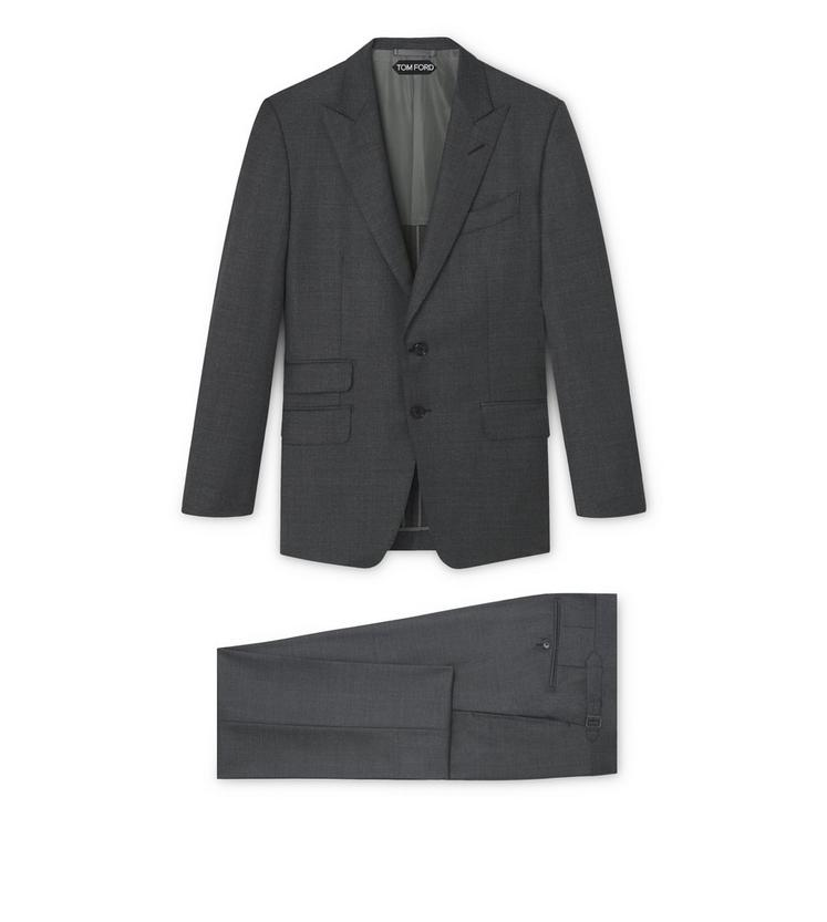 O CONNOR HALF LINED SUIT WITH PEAK LAPEL A fullsize