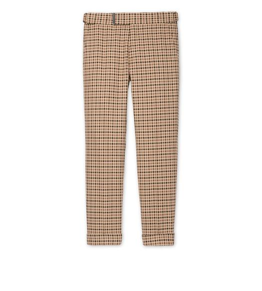 CAMEL TATTERSALL O'CONNOR TROUSERS