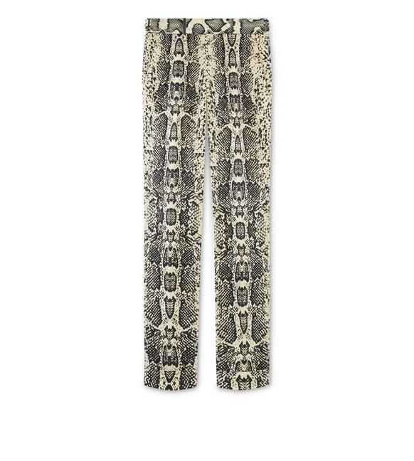 ABSTRACT SNAKE ATTICUS TROUSERS A fullsize