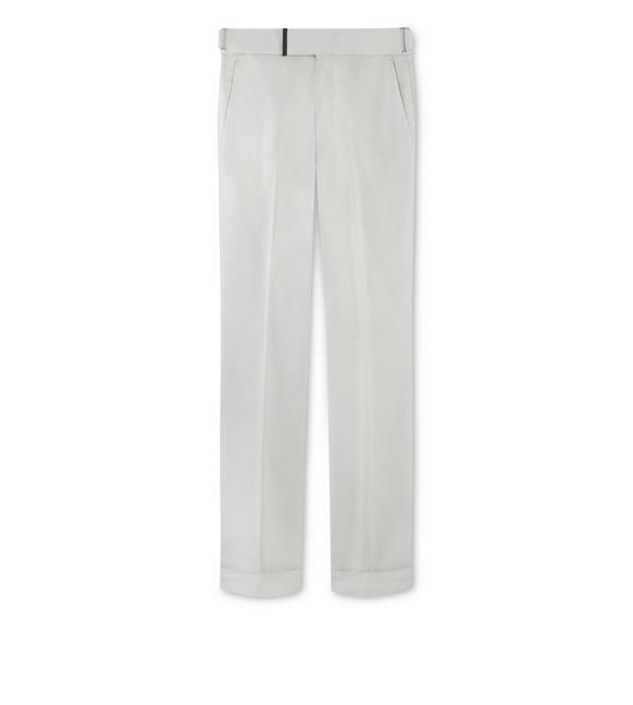 GREY COTTON ATTICUS TROUSERS A fullsize