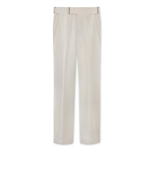CREAM MIKADO ATTICUS TROUSERS