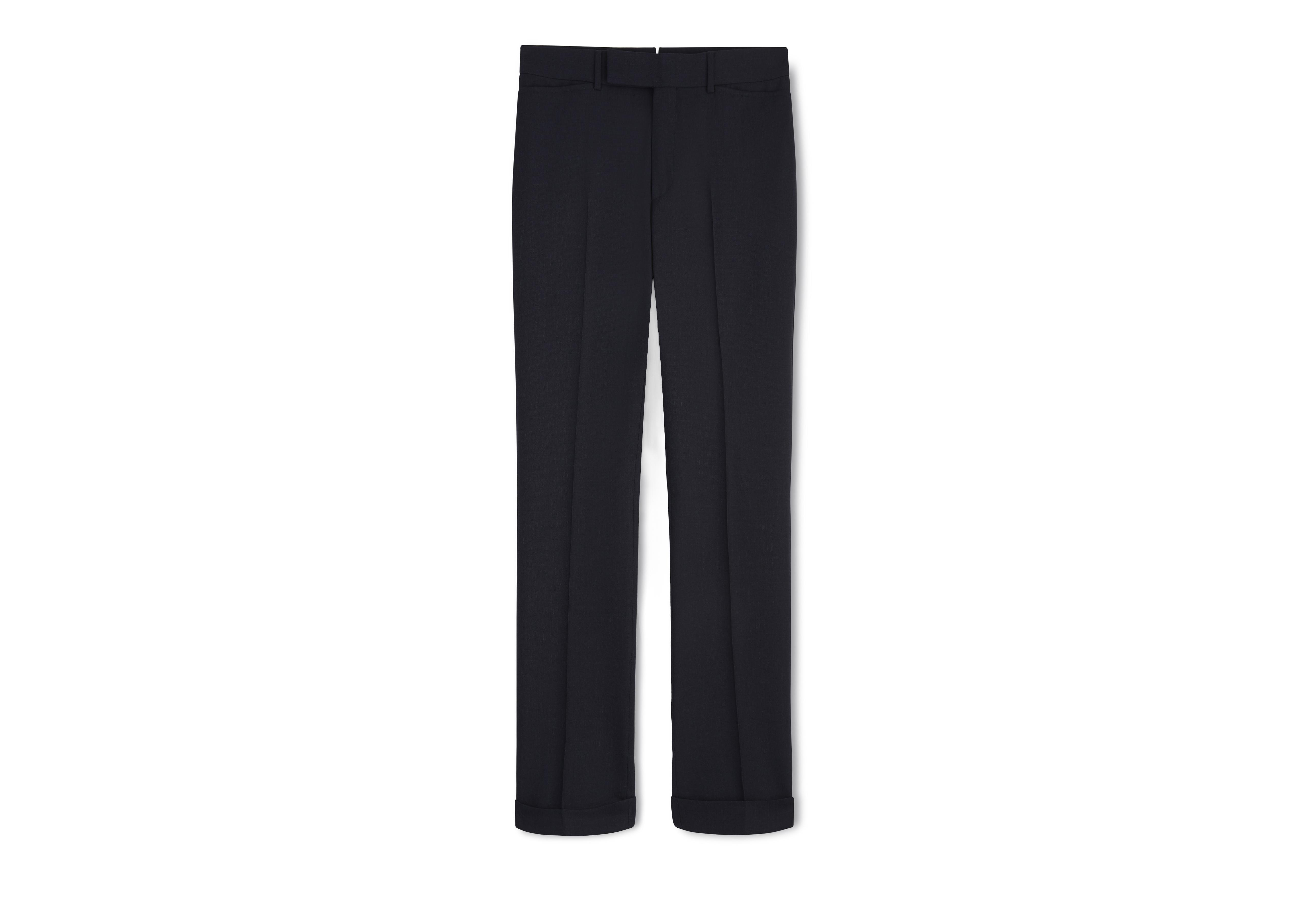 FLUID MICROWEAVE TAILORED SPORT TROUSERS A thumbnail