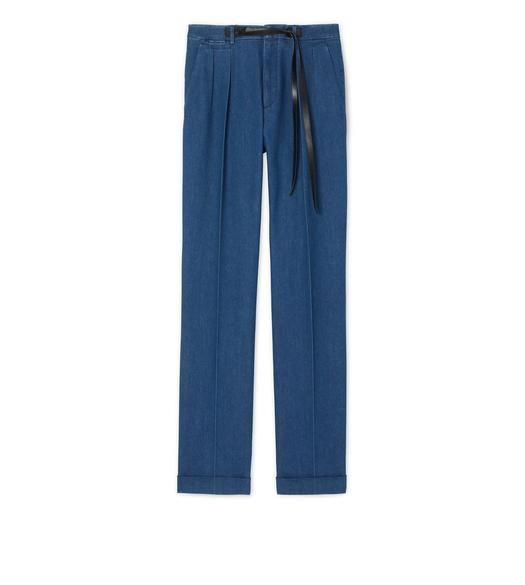 DENIM ATTICUS TROUSERS