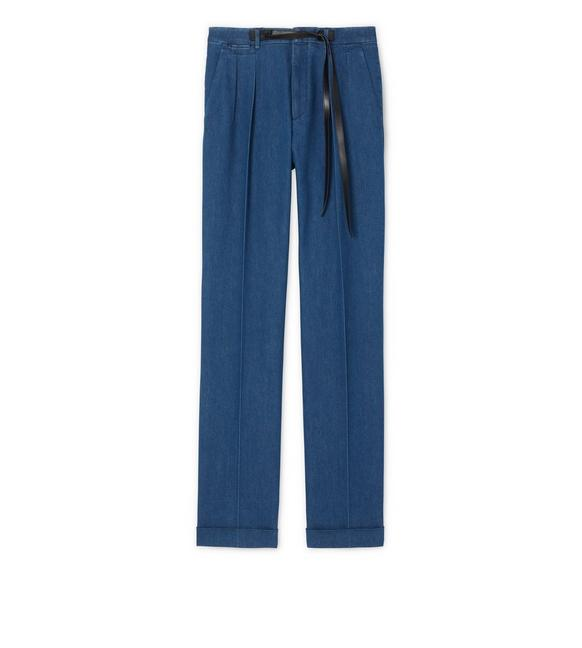 DENIM ATTICUS TROUSERS A fullsize