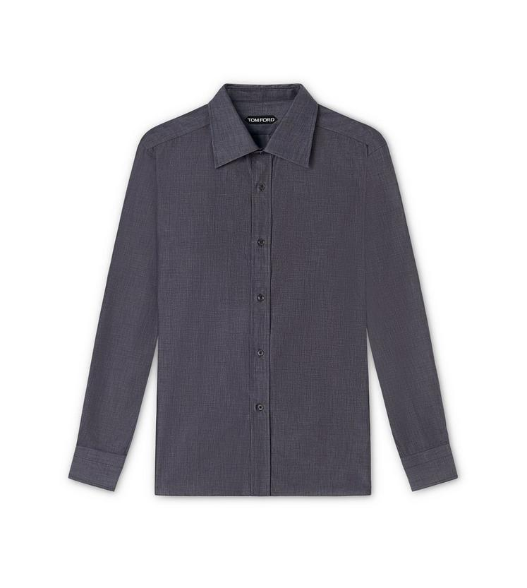 MICRO PINPOINT POINT COLLAR DAY SHIRT A fullsize