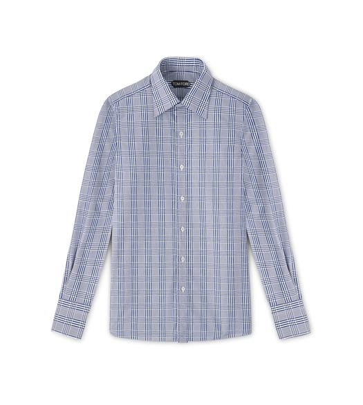 CLASSIC FIT CLASSIC COLLAR BARREL CUFF SHIRT