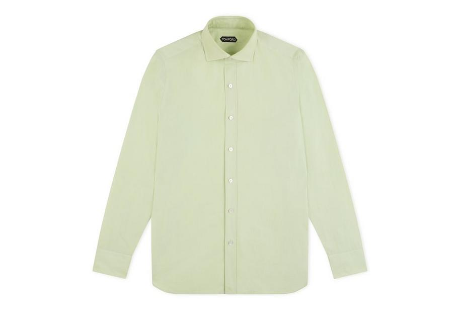GREEN PINPOINT CLASSIC FIT SHIRT A fullsize