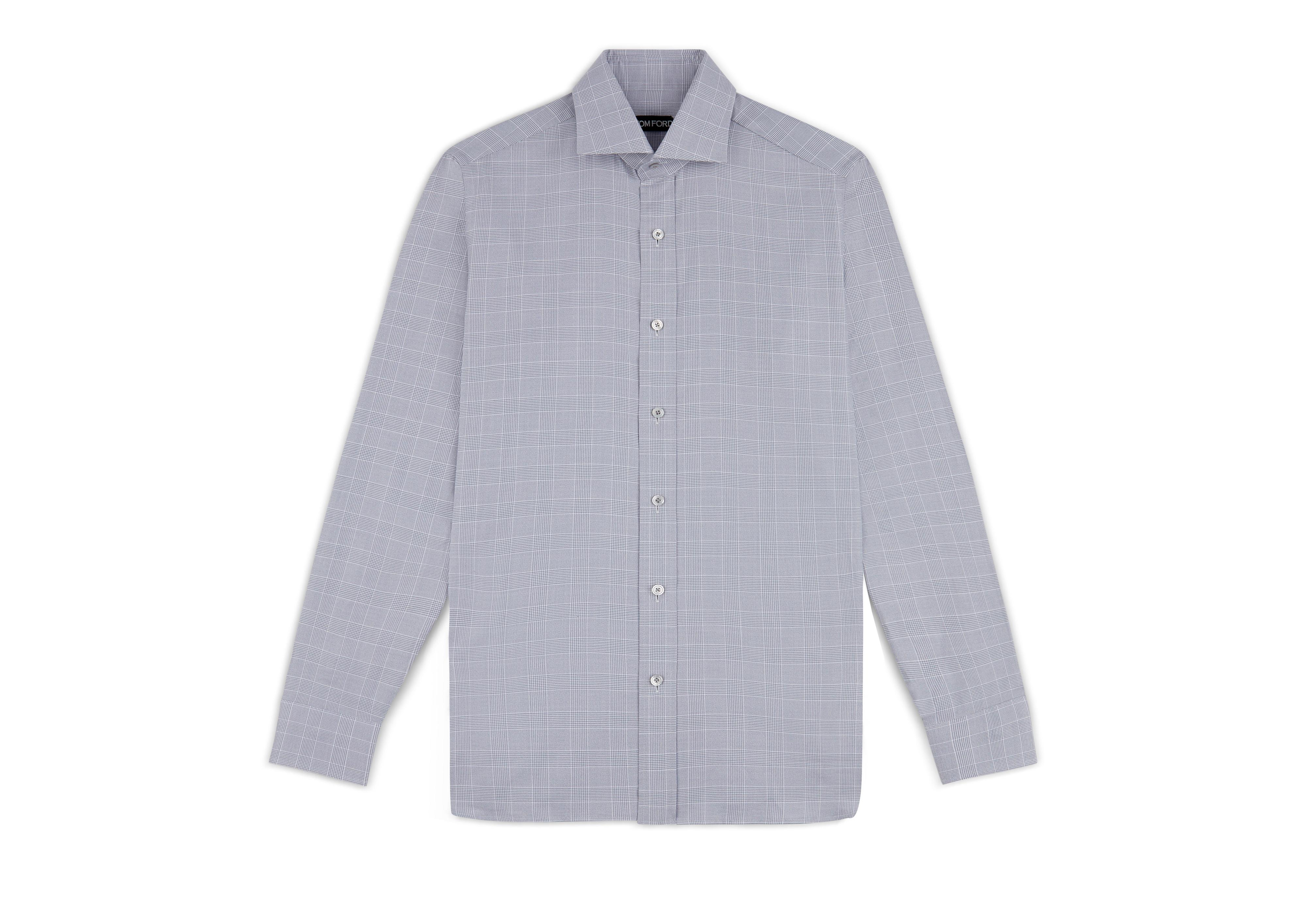 PRINCE OF WALES CLASSIC FIT SHIRT A thumbnail