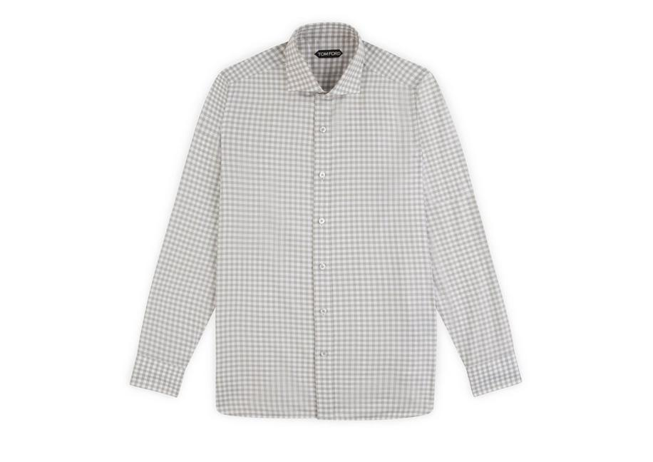 GINGHAM CLASSIC FIT SHIRT A fullsize