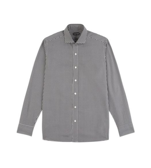 HOUNDSTOOTH CLASSIC FIT SHIRT