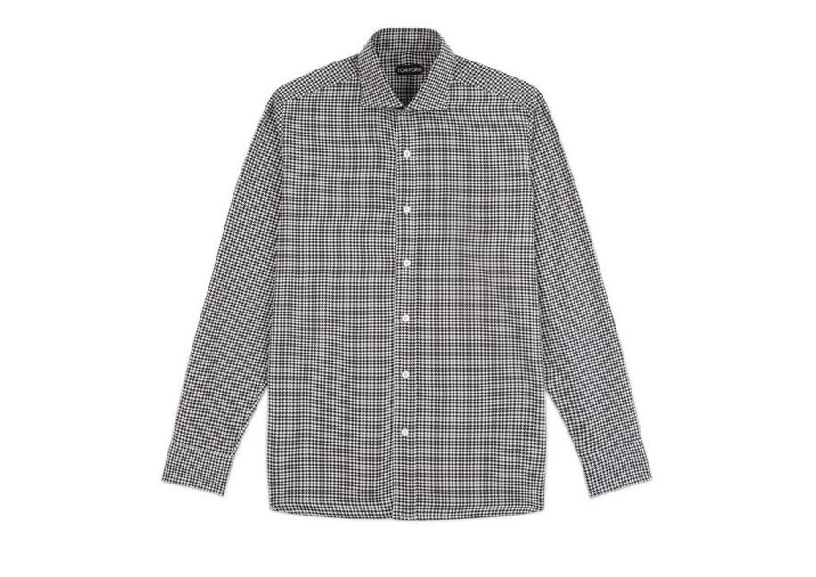 HOUNDSTOOTH CLASSIC FIT SHIRT A fullsize