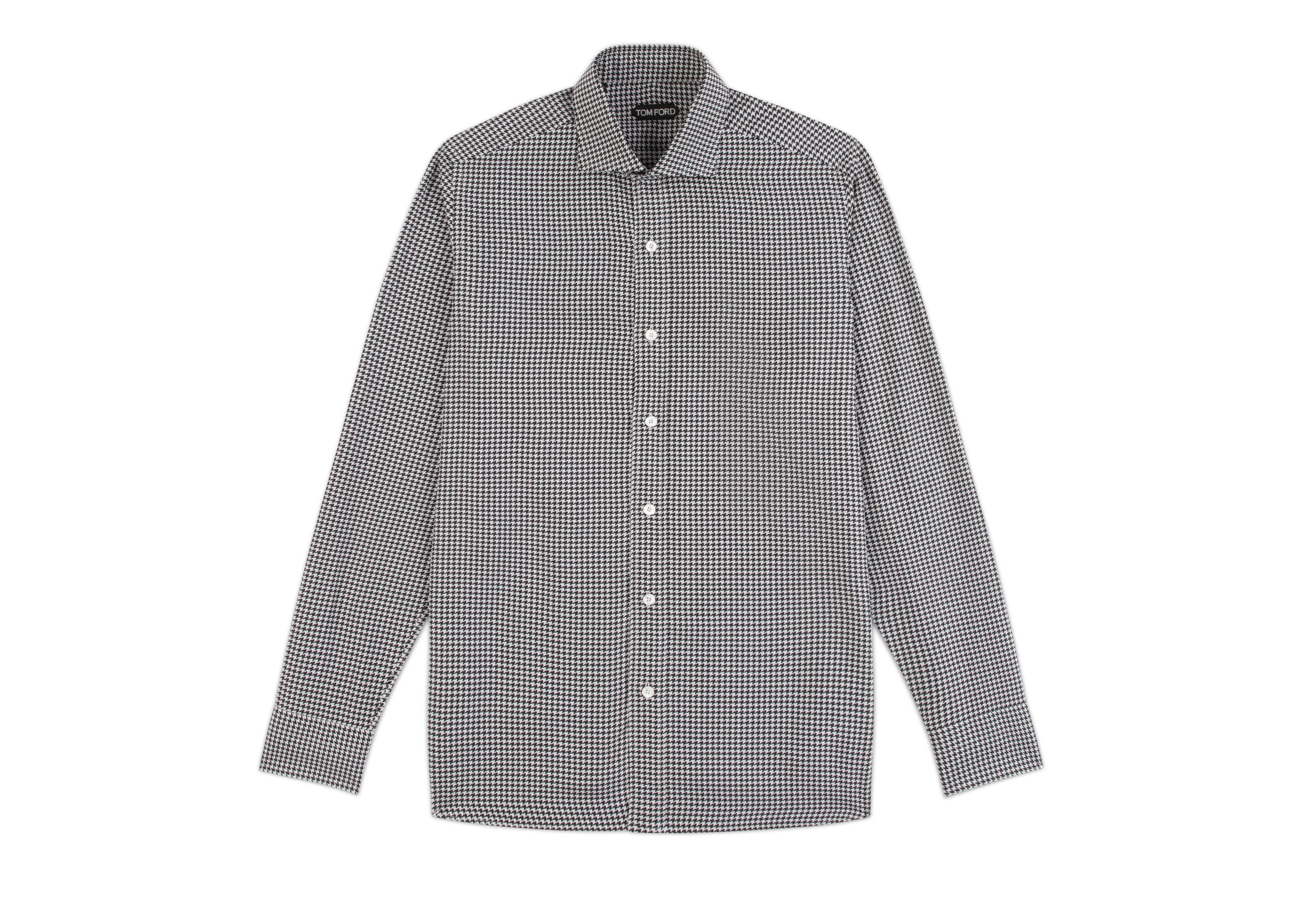 HOUNDSTOOTH CLASSIC FIT SHIRT A thumbnail
