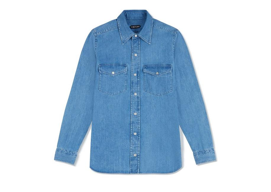 WESTERN DENIM SHIRT A fullsize