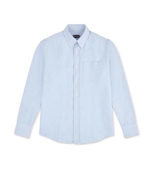 BLUE WASHED OXFORD SHIRT