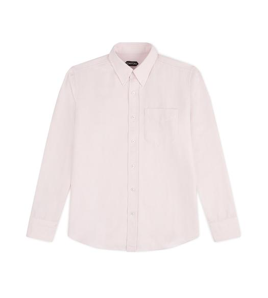 PINK WASHED OXFORD SHIRT
