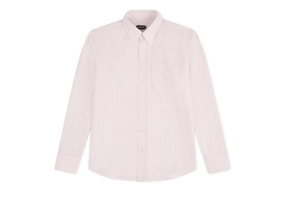 PINK WASHED OXFORD SHIRT A fullsize