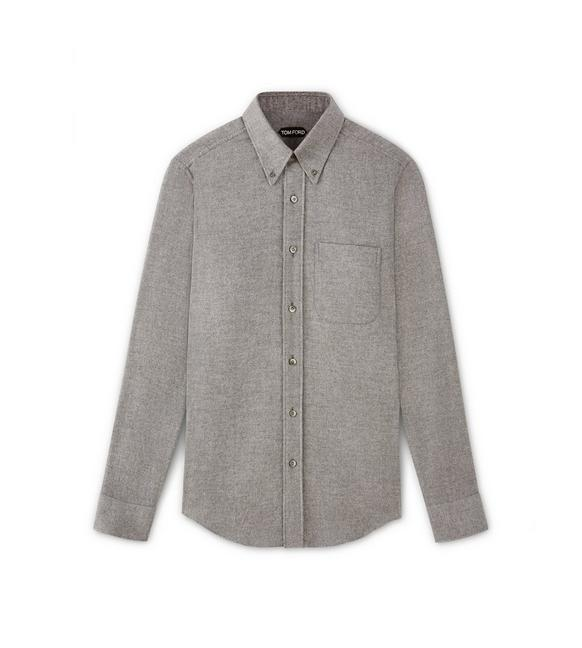 POINT COLLAR BUTTON DOWN TAILORED FIT SHIRT A fullsize