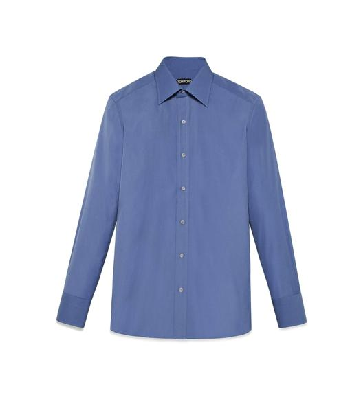 TONAL BLUE SLIM FIT SHIRT