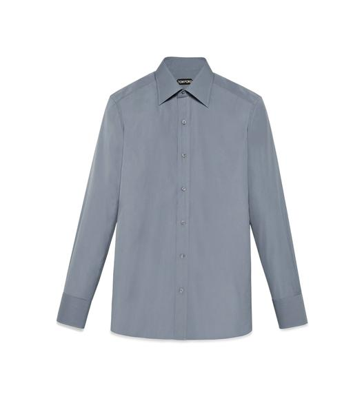 TONAL GREY SLIM FIT SHIRT
