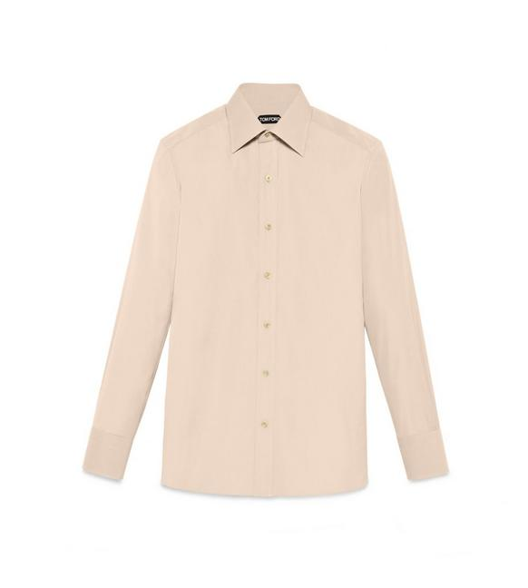 TONAL LIGHT YELLOW SLIM FIT SHIRT A fullsize