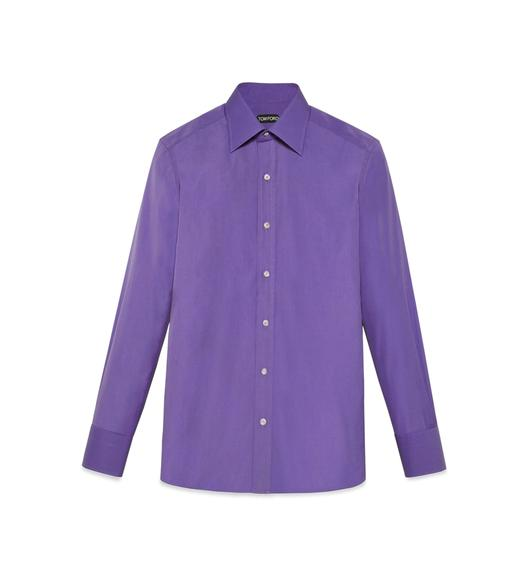 TONAL LILAC SLIM FIT SHIRT