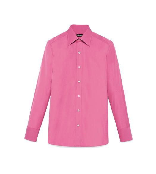TONAL PINK SLIM FIT SHIRT
