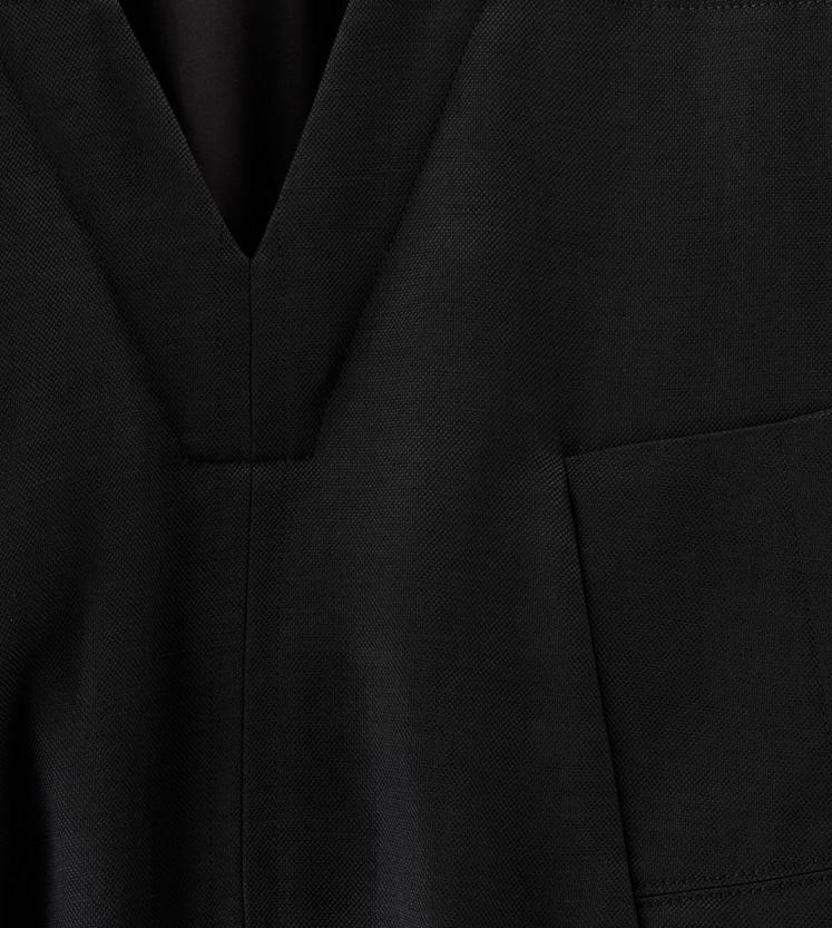 BLOUSANT DRESS WITH POCKET C fullsize