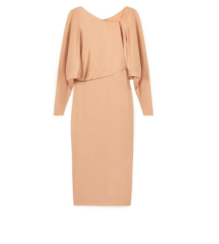 KNEE LENGTH BLOUSON TOP DRESS A fullsize