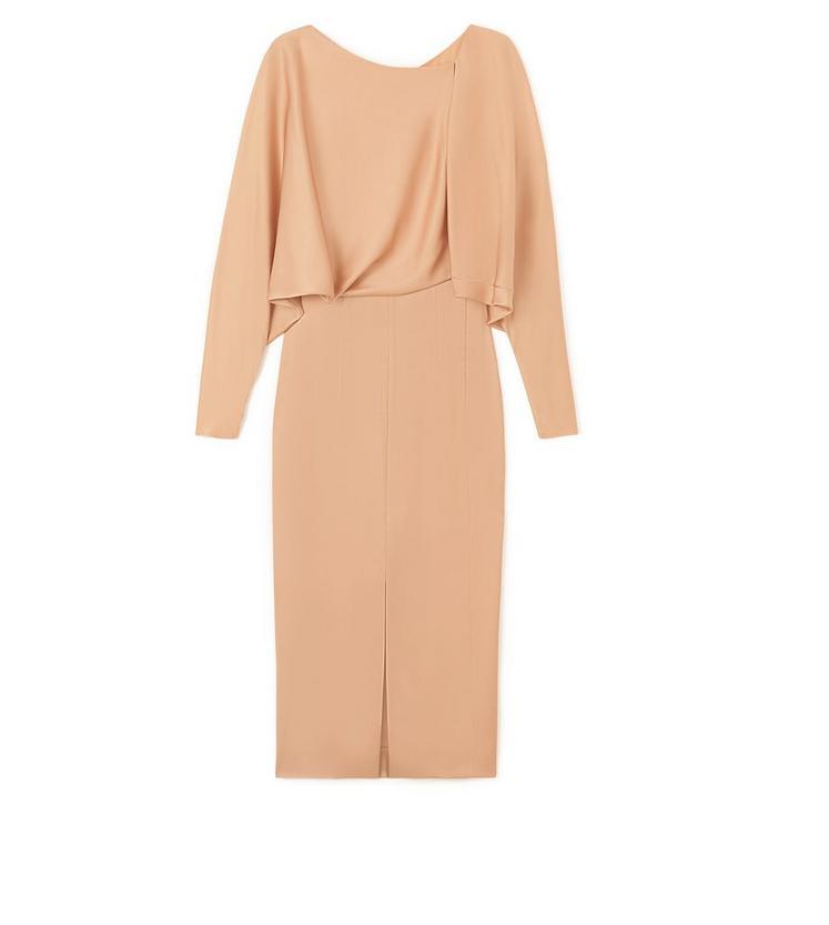 KNEE LENGTH BLOUSON TOP DRESS B fullsize