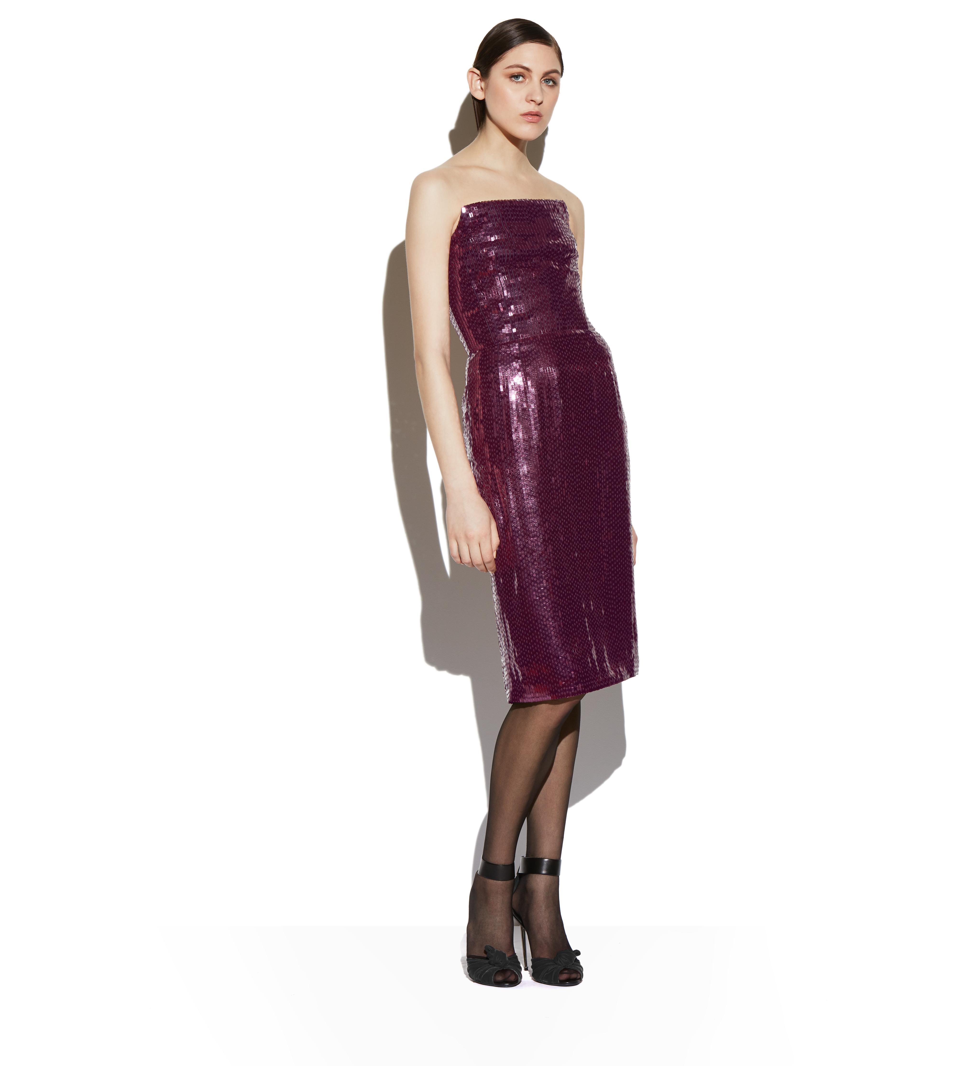 SEQUIN BUSTIER DRESS B thumbnail