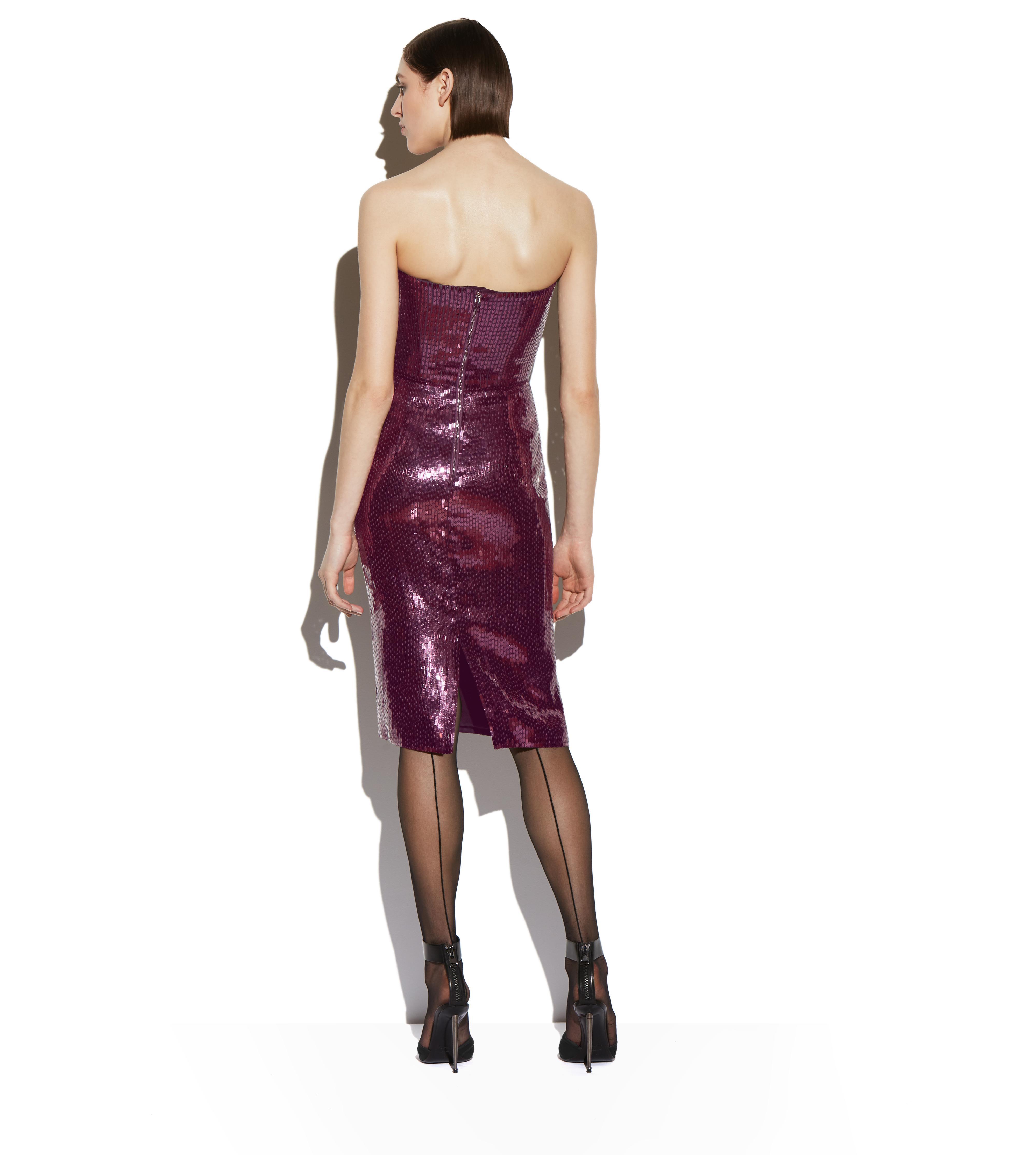 SEQUIN BUSTIER DRESS C thumbnail