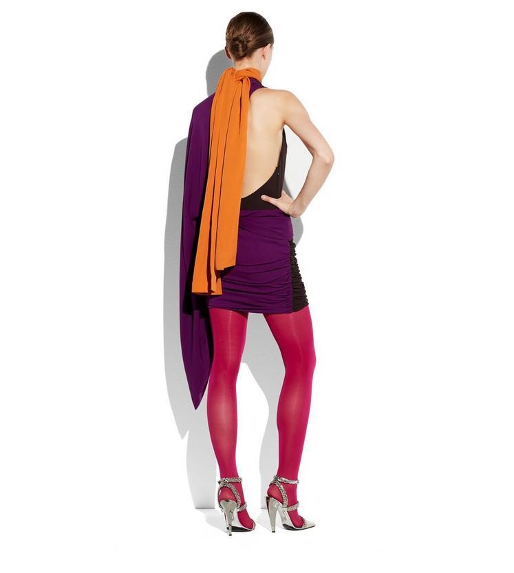 ASYMMETRIC KIMONO DOUBLE GEORGETTE DRESS C fullsize