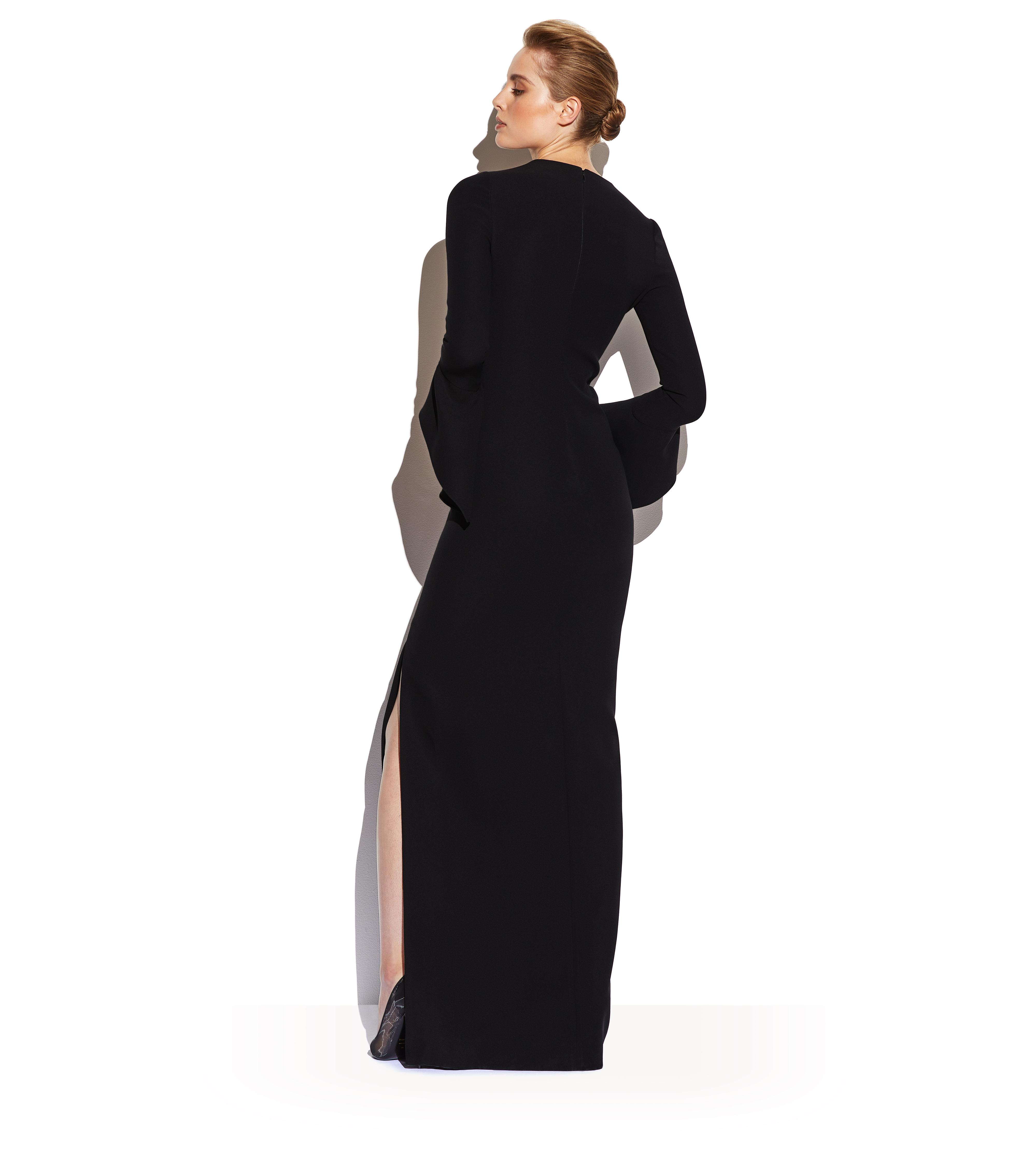 FLUTE SLEEVE GOWN C thumbnail