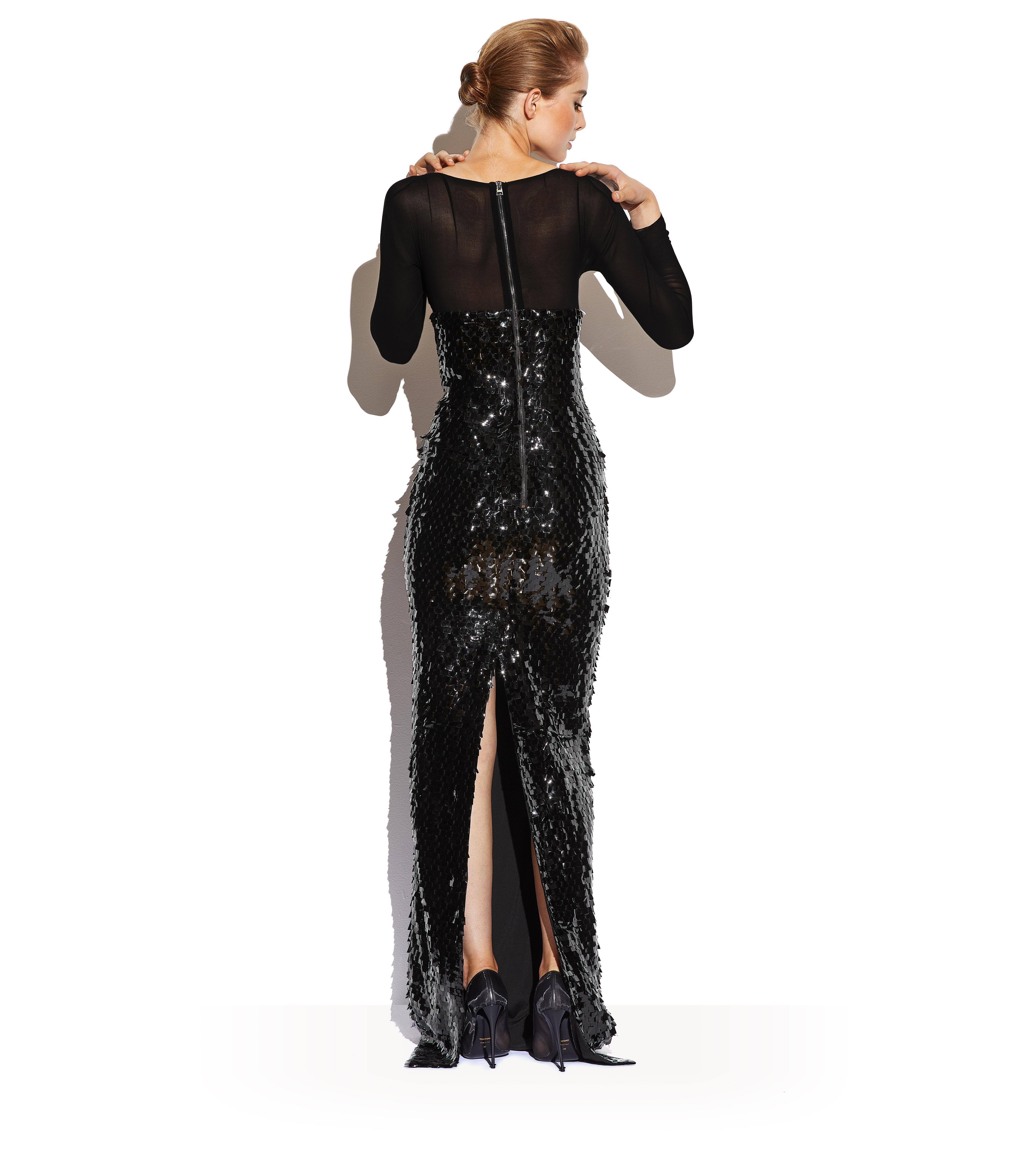 EMBROIDERED BUSTIER GOWN C thumbnail