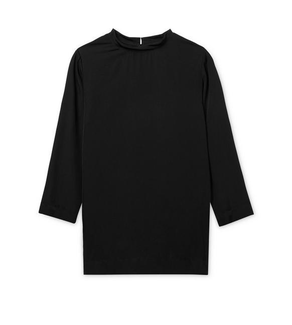 TWISTED NECK MINI DRESS A fullsize