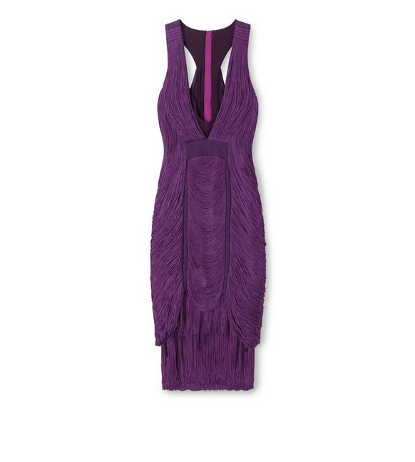 RAW CUT FRINGE DRESS A fullsize