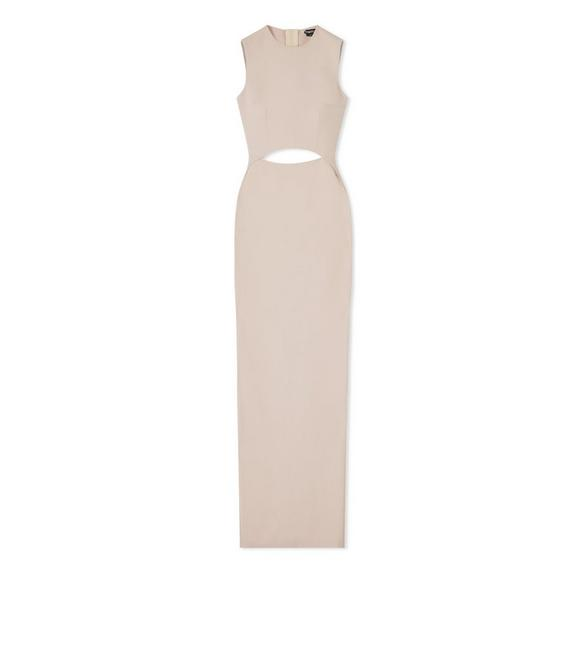 CUT-OUT PENCIL GOWN A fullsize