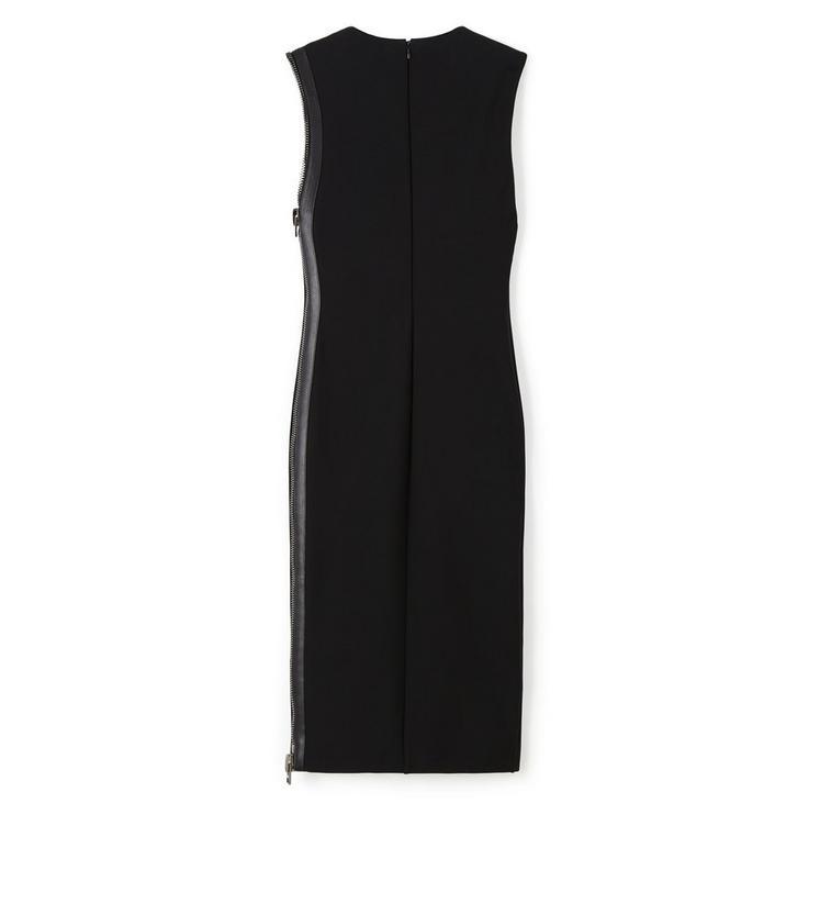 COMPACT JERSEY SIDE-ZIP DRESS B fullsize