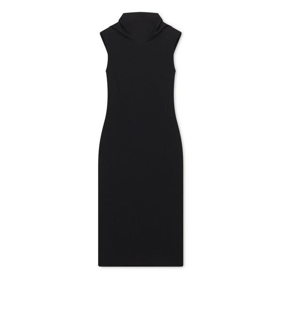SLEEVELESS TURTLENECK DRESS A fullsize