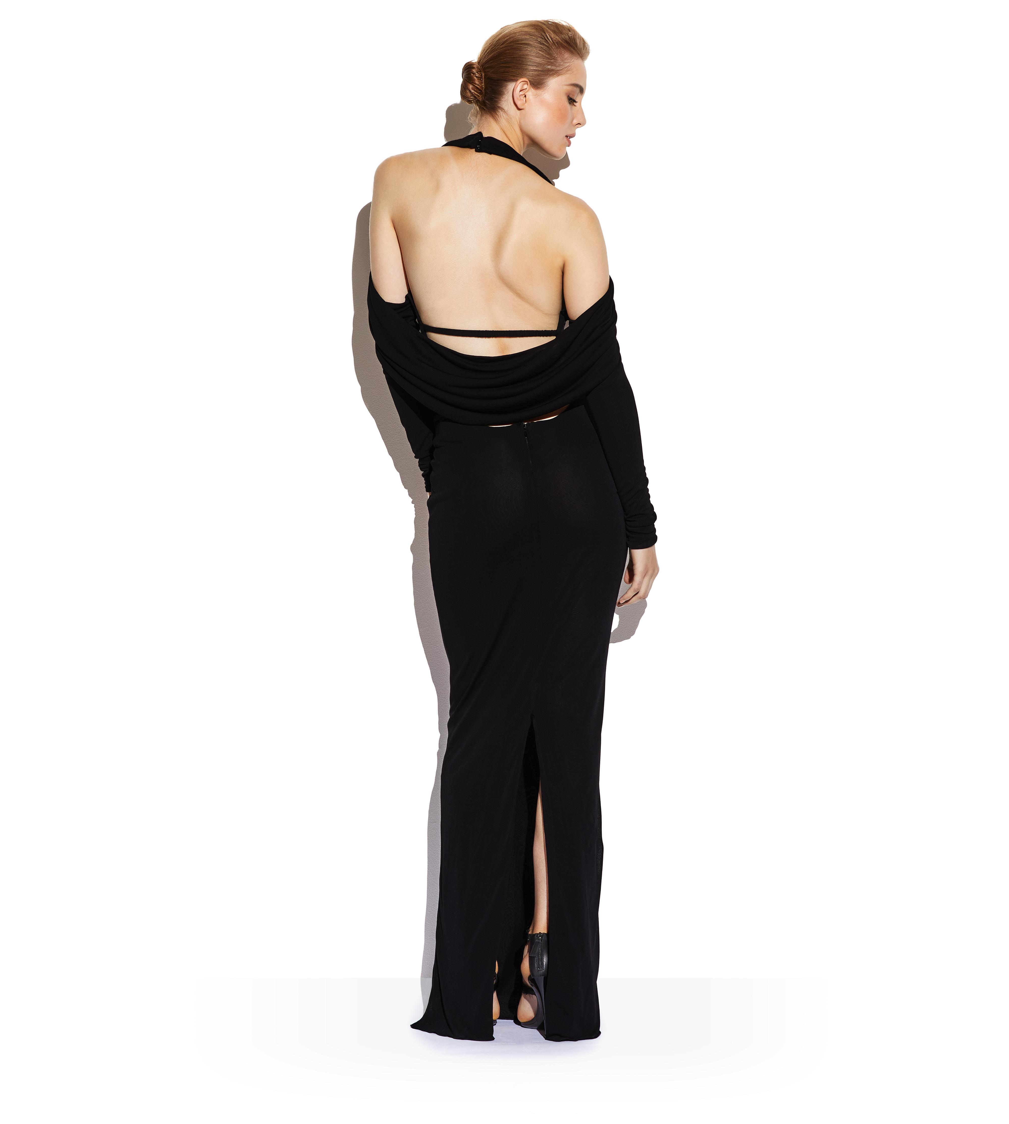 OPEN BACK GOWN C thumbnail
