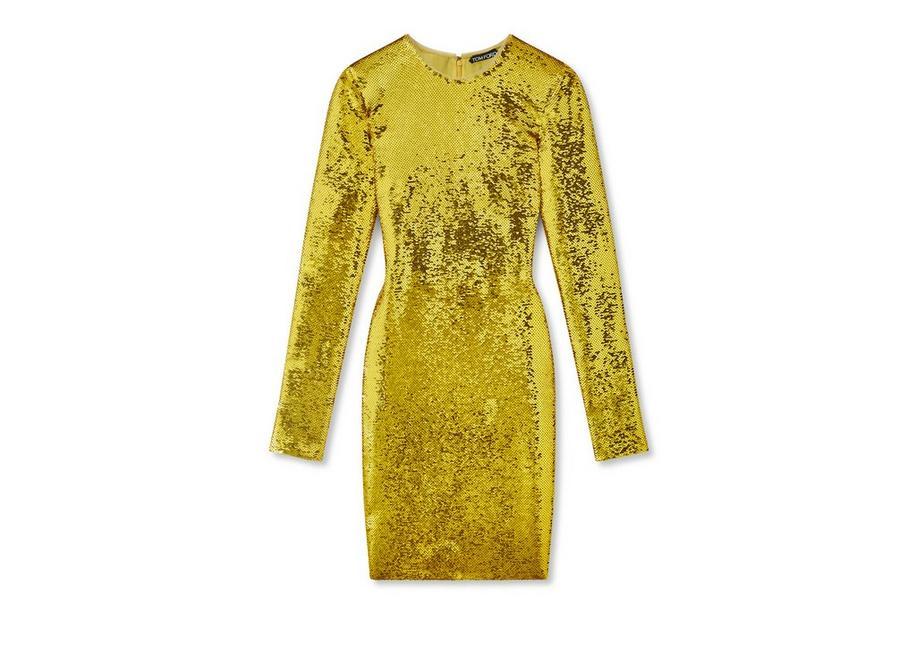 LIQUID SEQUIN MINI DRESS A fullsize
