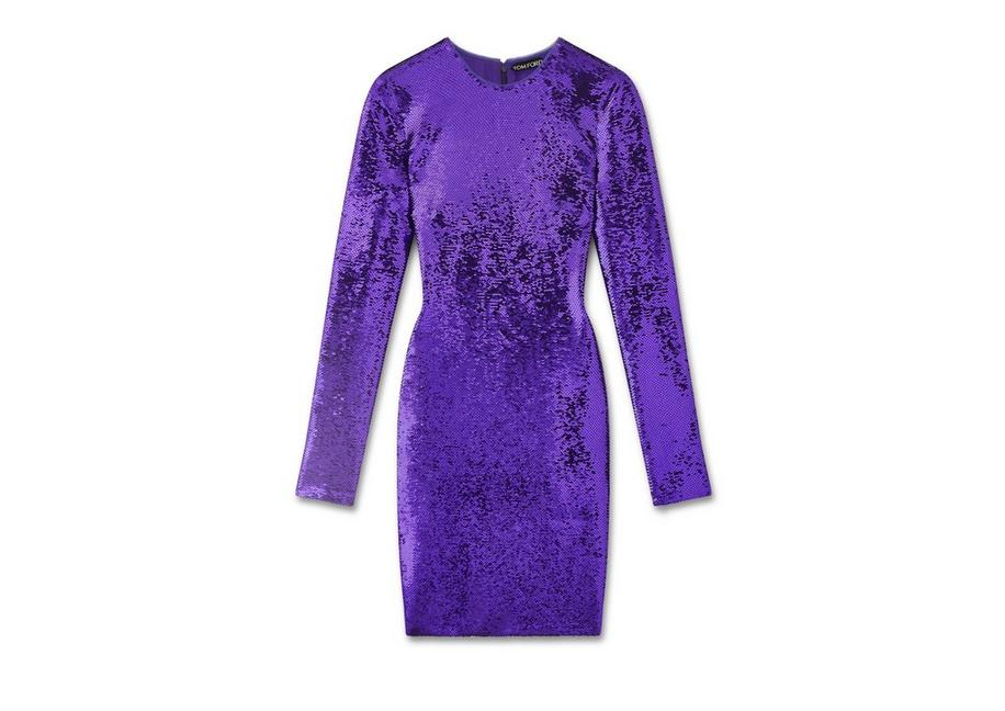 LIQUID SEQUIN MINI DRESS A fullsize